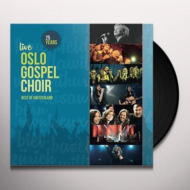 Oslo Gospel Choir 25 YEARS LIVE Vinyl Record