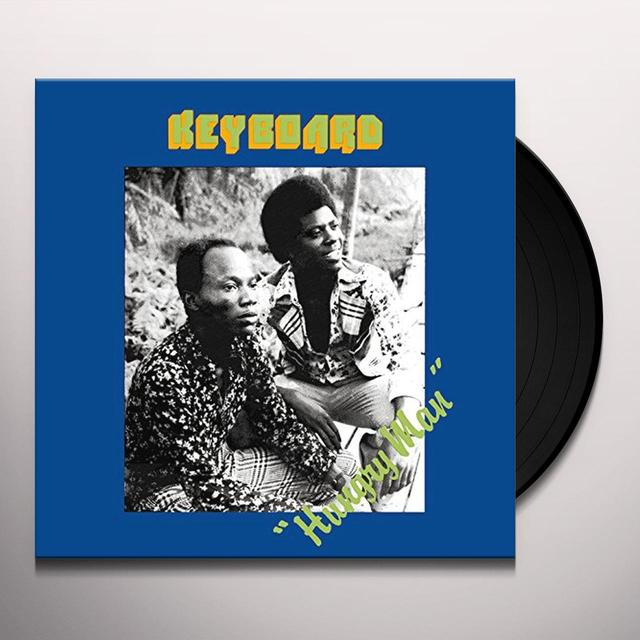 Keyboard HUNGRY MAN Vinyl Record - Digital Download Included