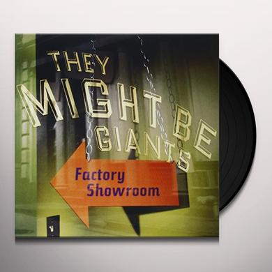 They Might Be Giants FACTORY SHOWROOM Vinyl Record - Limited Edition