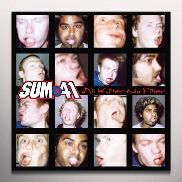 Sum 41 ALL KILLER NO FILLER Vinyl Record - Colored Vinyl, Limited Edition