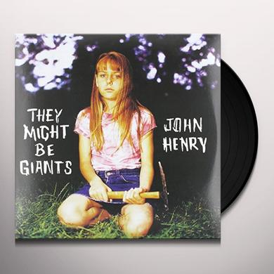 They Might Be Giants JOHN HENRY Vinyl Record - Limited Edition