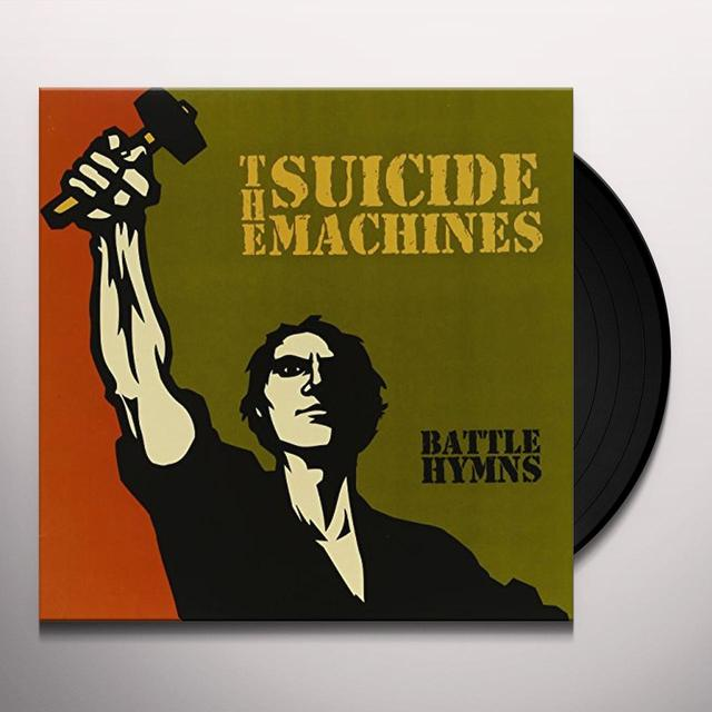 Suicide Machines BATTLE HYMNS Vinyl Record - Limited Edition