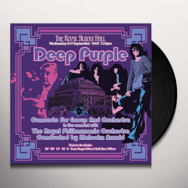 Deep Purple CONCERTO FOR GROUP & ORCHESTRA (2002 REMIX) Vinyl Record - 180 Gram Pressing