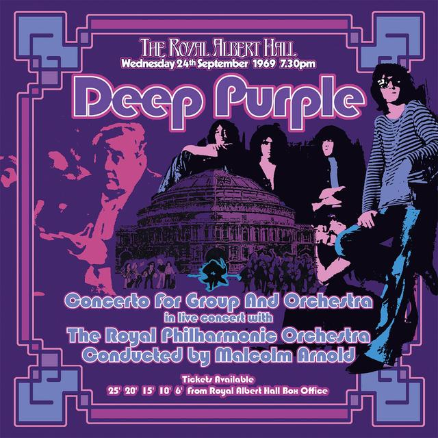 Deep Purple CONCERTO FOR GROUP & ORCHESTRA (2002 REMIX) Vinyl Record