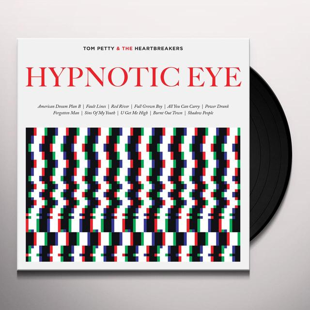 Tom Petty and the Heartbreakers HYPNOTIC EYE Vinyl Record - Digital Download Included