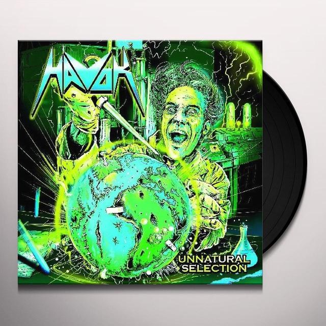 Havok UNNATURAL SELECTION WITH POINT OF NO RETURN Vinyl Record