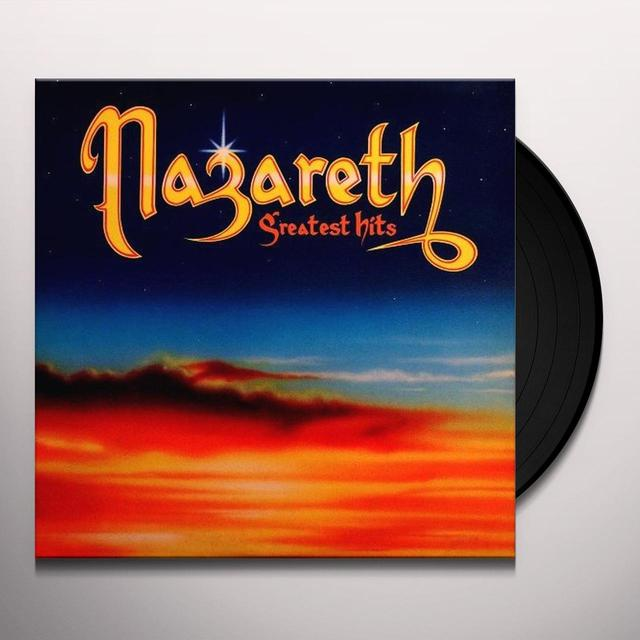 Nazareth GREATEST HITS Vinyl Record - Limited Edition
