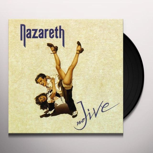 Nazareth NO JIVE Vinyl Record - Limited Edition