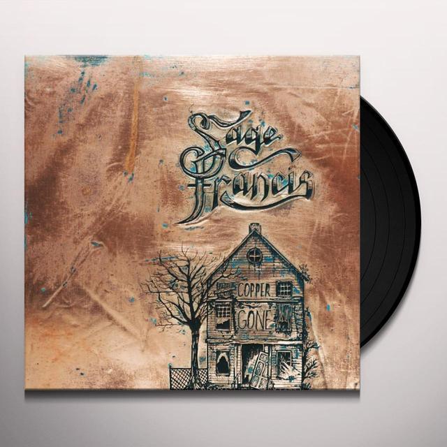 Sage Francis COPPER GONE Vinyl Record - Gatefold Sleeve