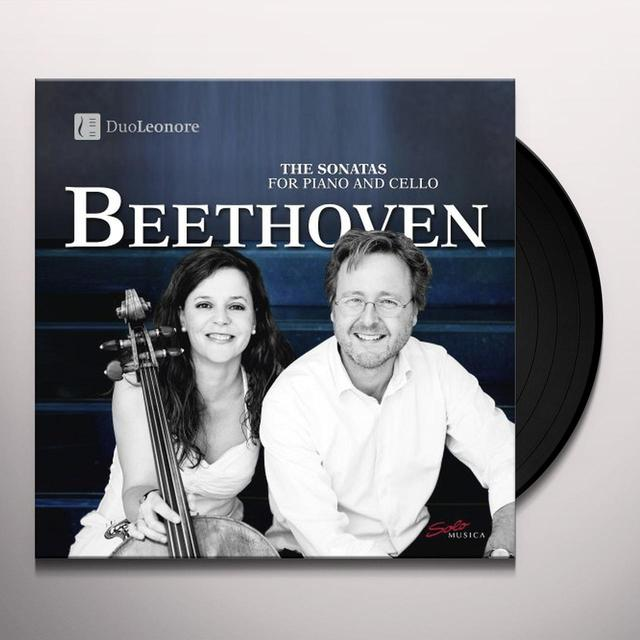 Beethoven 5 SONS FOR CELLO & PIANO Vinyl Record