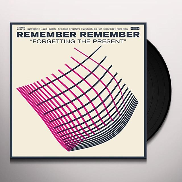 Remember Remember FORGETTING THE PRESENT Vinyl Record - UK Import