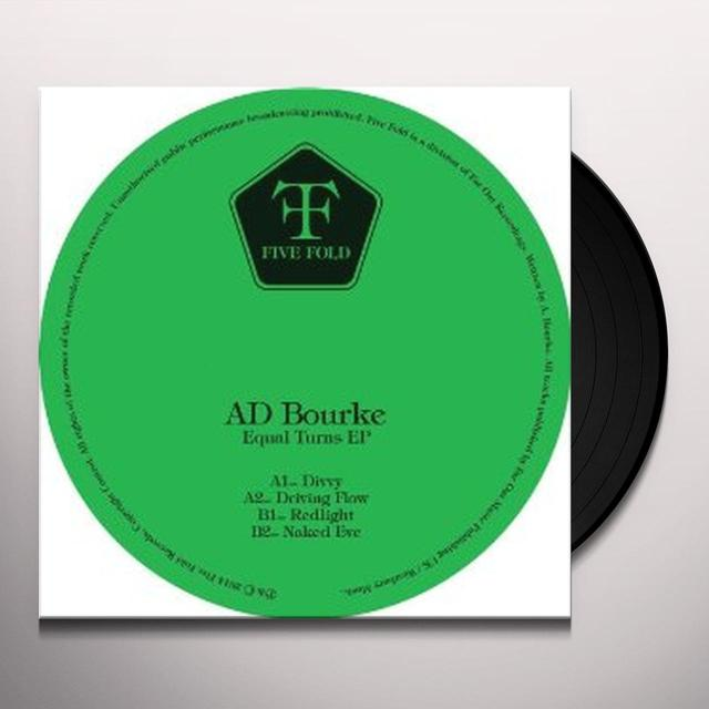Ad Bourke EQUAL TURNS EP Vinyl Record - UK Import