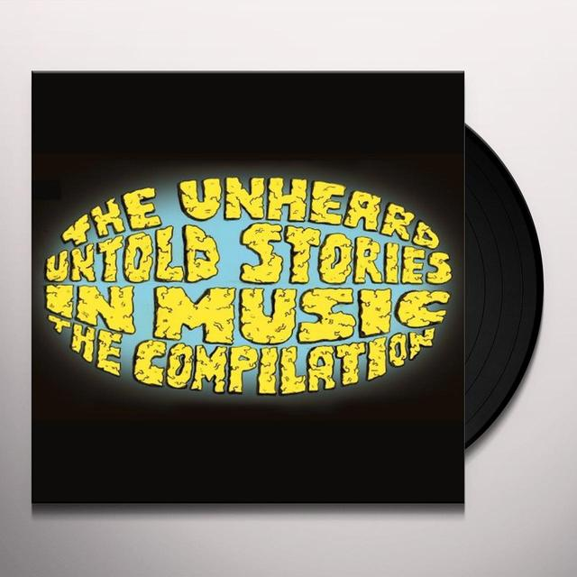 Unheard UNTOLD STORIES IN MUSIC THE COMPILATION Vinyl Record - UK Release