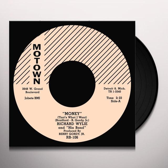 Richard Popcorn Wylie MONEY/I'LL STILL BE AROUND Vinyl Record - UK Import