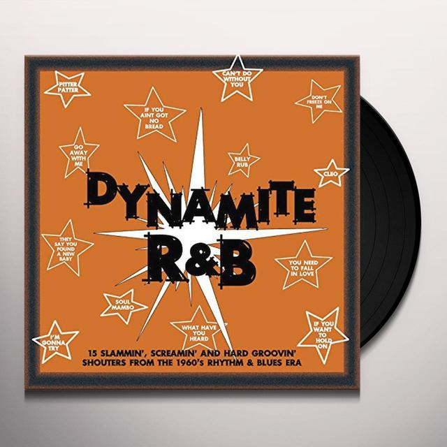 Dynamite R&B / Various (Uk) DYNAMITE R&B / VARIOUS Vinyl Record - UK Release