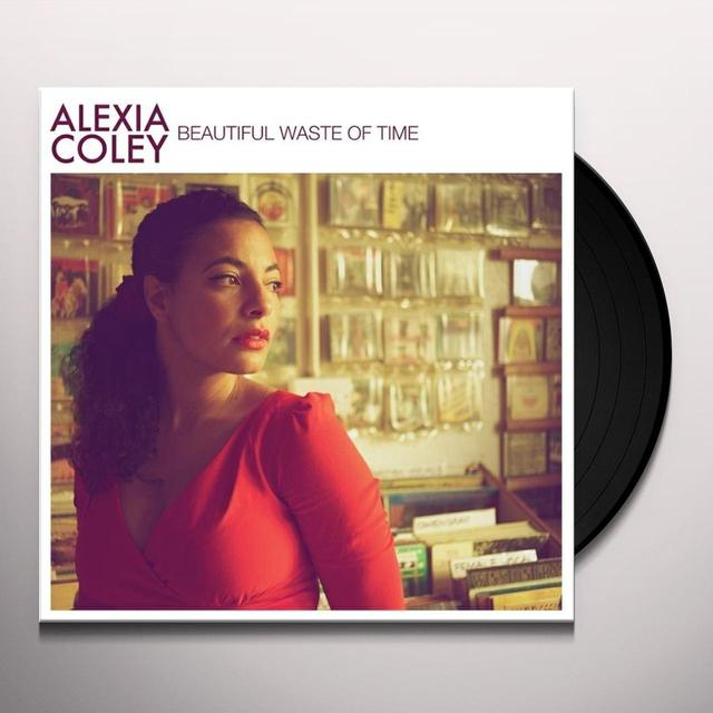 Alexia Coley BEAUTIFUL WASTE OF TIME Vinyl Record - UK Release