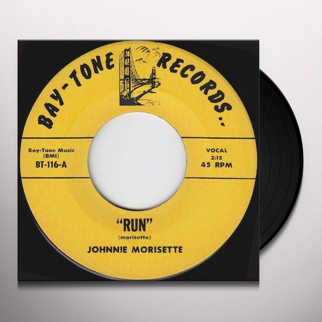 Johnnie Morisette RUN Vinyl Record - UK Import