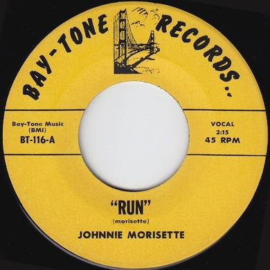 Johnnie Morisette RUN Vinyl Record - UK Release
