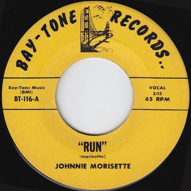 Johnnie Morisette RUN Vinyl Record - UK Import