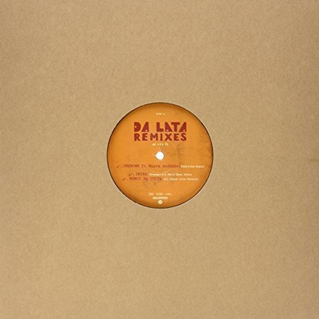 Da Lata REMIXES Vinyl Record - UK Release