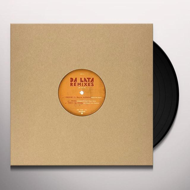 Da Lata REMIXES Vinyl Record - UK Release
