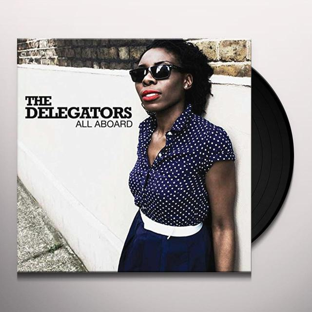 Delegator ALL ABOARD Vinyl Record - UK Import