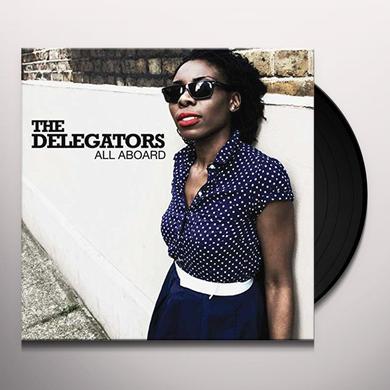 Delegator ALL ABOARD Vinyl Record - UK Import