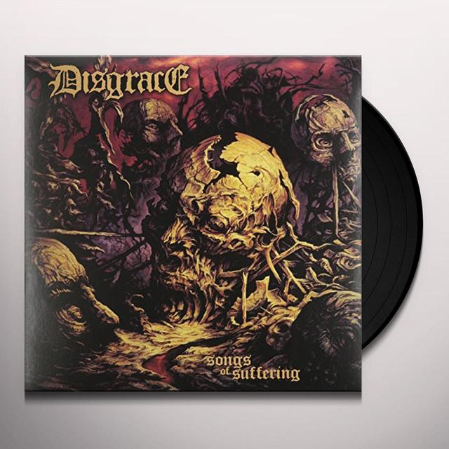 Disgrace SONGS OF SUFFERING Vinyl Record
