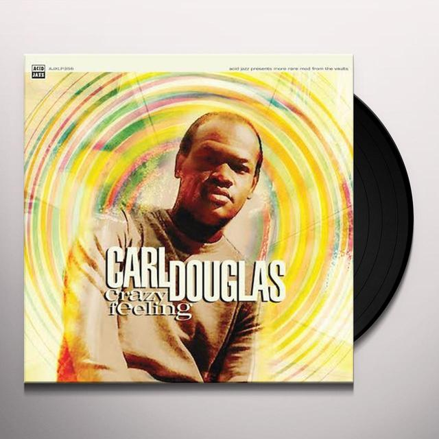 Carl Douglas CRAZY FEELING Vinyl Record