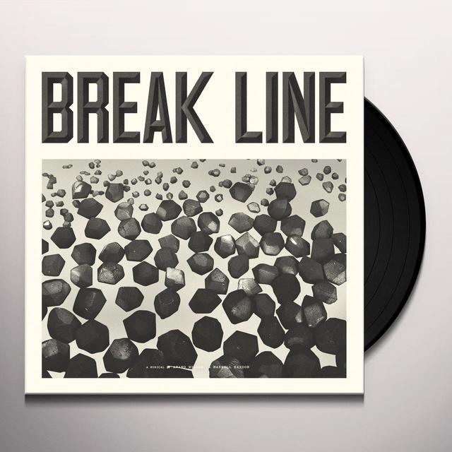 Anand Wilder & Maxwell Kardon BREAK LINE THE MUSICAL Vinyl Record