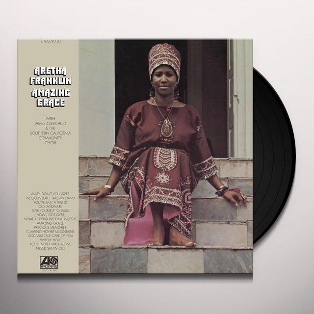Aretha Franklin AMAZING GRACE Vinyl Record - 180 Gram Pressing