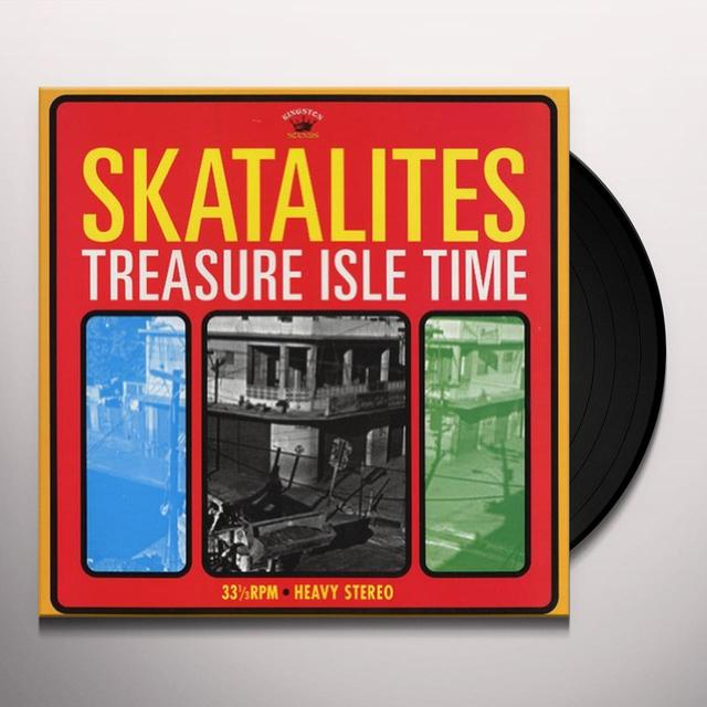 The Skatalites TREASURE ISLE TIME (Vinyl)