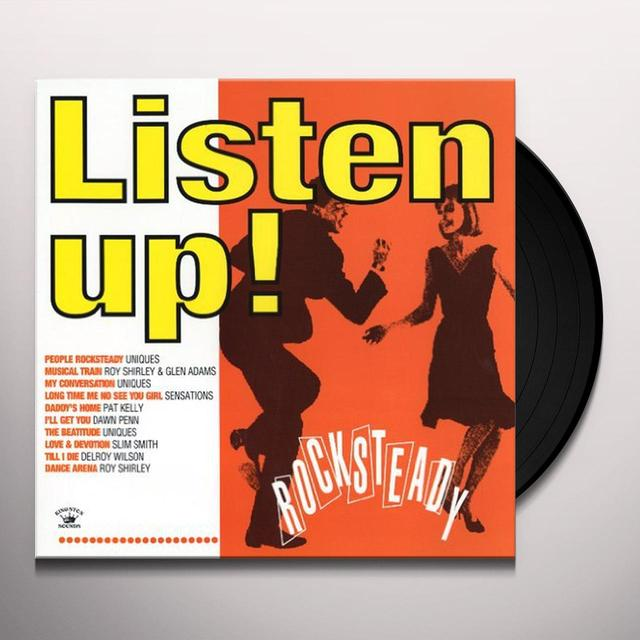 LISTEN UP: ROCK STEADS / VARIOUS Vinyl Record