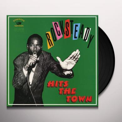 ROCKSTEADY HITS THE TOWN / VARIOUS Vinyl Record