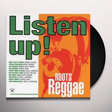 LISTEN UP: ROOTS REGGAE / VARIOUS Vinyl Record