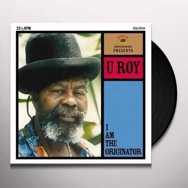 U-Roy I AM THE ORIGINATOR Vinyl Record