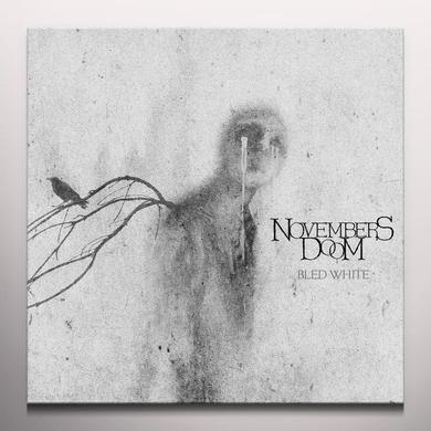 Novembers Doom BLED WHITE Vinyl Record