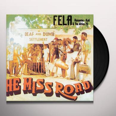 Fela Kuti HE MISS ROAD Vinyl Record - Digital Download Included