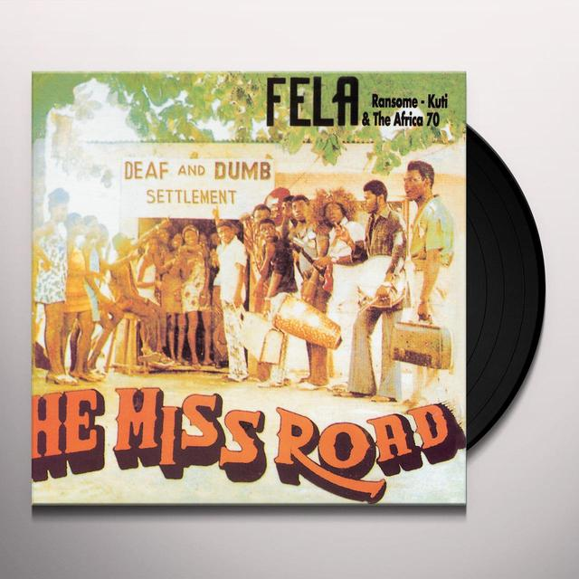 Fela Kuti HE MISS ROAD Vinyl Record - Digital Download Included
