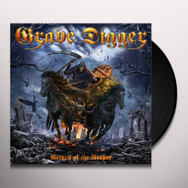 Grave Digger RETURN OF THE REAPER Vinyl Record