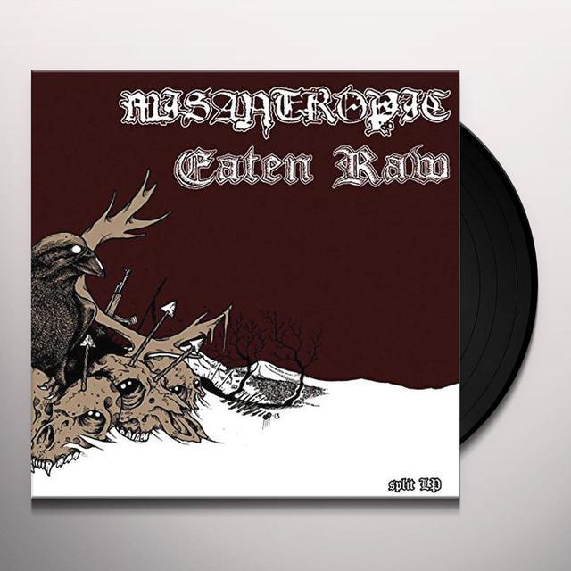 Misantropic / Eaten Raw SPLIT Vinyl Record