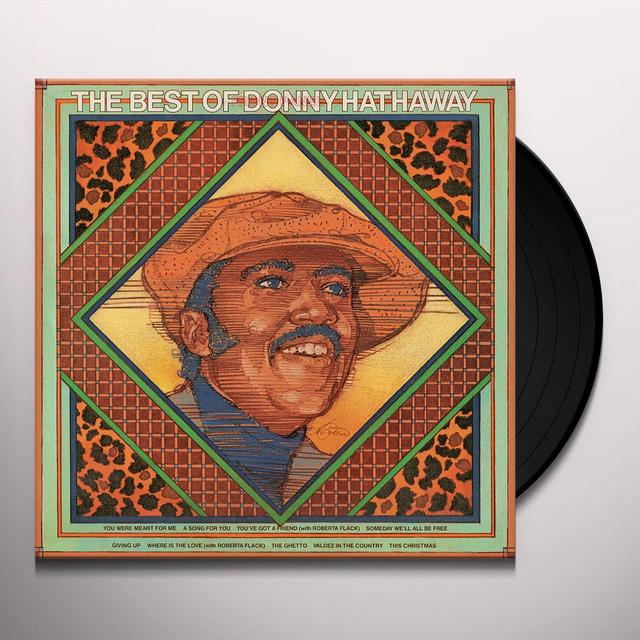 BEST OF DONNY HATHAWAY Vinyl Record - Limited Edition, 180 Gram Pressing, Anniversary Edition