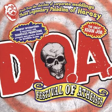 Doa FESTIVAL OF ATHIESTS Vinyl Record