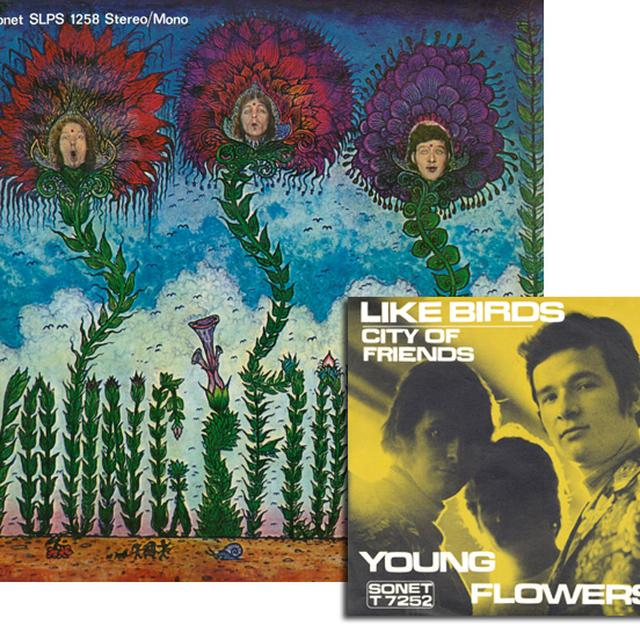 Young Flowers BLOMSTERPISTOLEN   (WSV) Vinyl Record - Limited Edition, 180 Gram Pressing