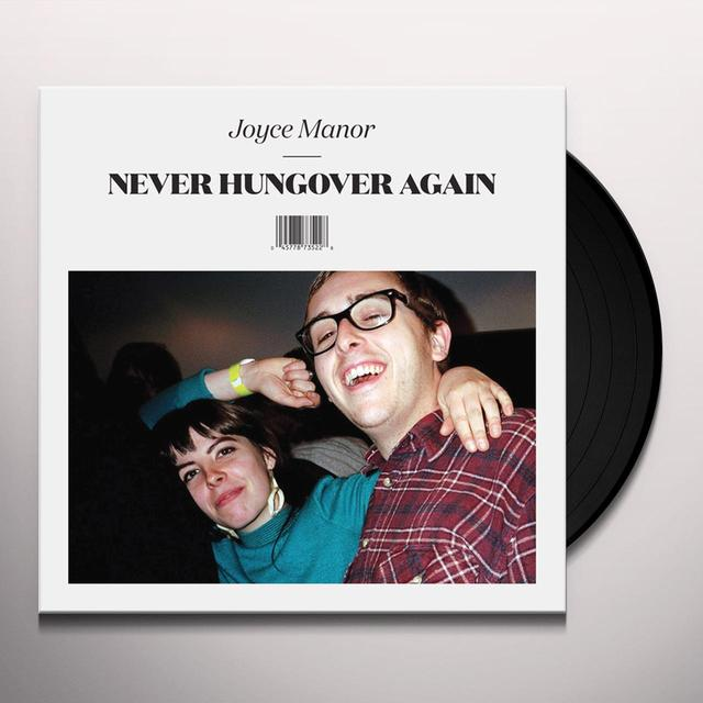 Joyce Manor NEVER HUNGOVER AGAIN Vinyl Record