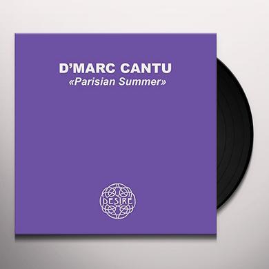 D'Marc Cantu PARISIAN SUMMER (EP) Vinyl Record