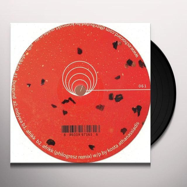 Xdb AFRIKK Vinyl Record
