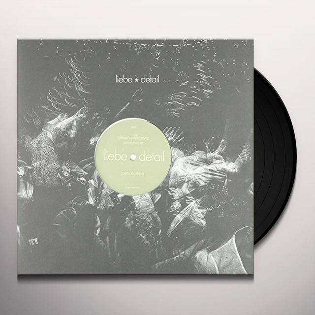 Dejan Milicevic PERCEPTION (EP) Vinyl Record