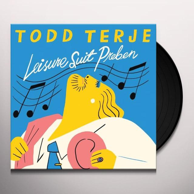 Todd Terje LEISURE SUIT PREBEN Vinyl Record