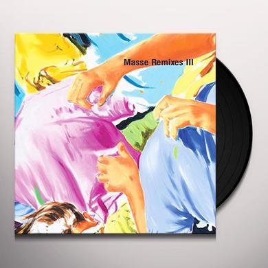 Henrik Schwarz MASSE REMIXES III Vinyl Record